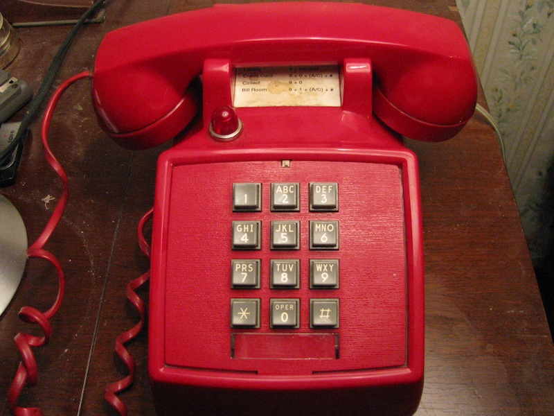my phone page this is my thirty seventh vintage phone a red itt 2500 desk phone which was given to me by a friend this is my first itt phone international telephone