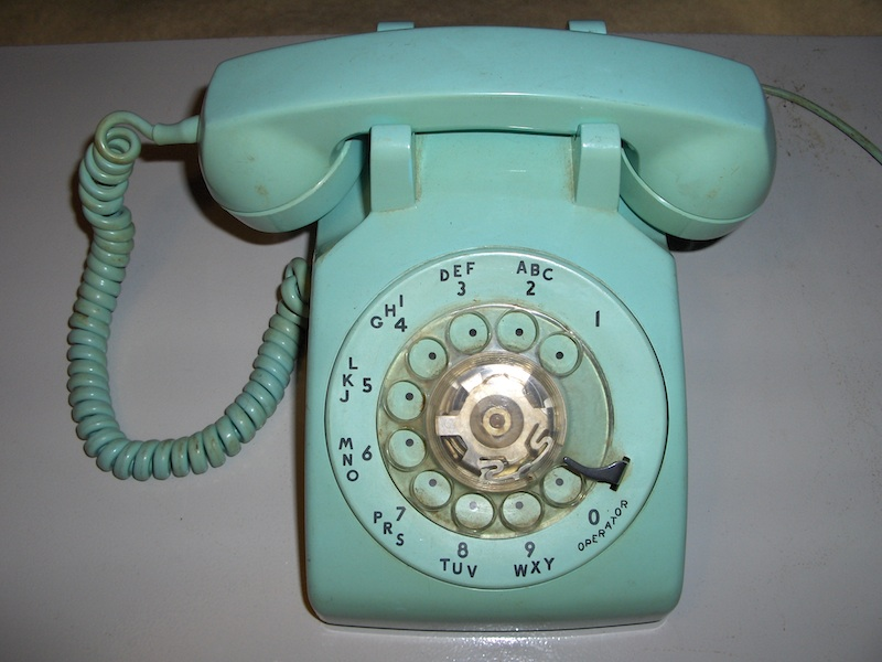 This Is My Fifty Fifth Vintage Phone A Turquoise Western Electric 500 Desk Which I Bought At Flea Market For 20 Second In