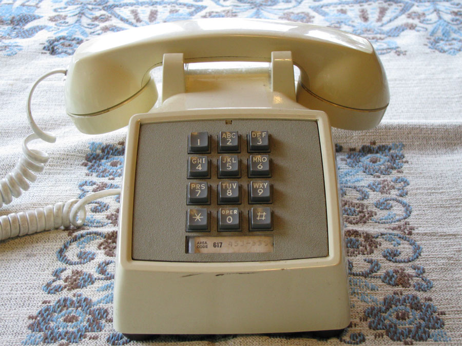 my phone page this is my thirty first vintage phone a white western electric 2500 desk phone which i bought at a flea market for 1 this is my first 2500 12 button