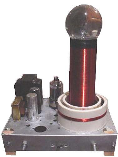 Small Vacuum Tube Tesla Coil 1