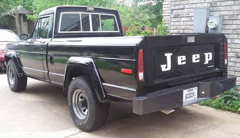 1983 Jeep J10 Cosmetic Restoration
